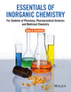 Essentials of Inorganic Chemistry: For Students of Pharmacy, Pharmaceutical Sciences and Medicinal Chemistry (0470665580) cover image