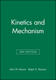 Kinetics and Mechanism, 3rd Edition (0471035580) cover image