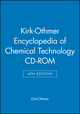 Kirk-Othmer Encyclopedia of Chemical Technology, CD-ROM, 4th Edition (0471151580) cover image