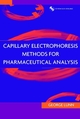 Capillary Electrophoresis Methods for Pharmaceutical Analysis (0471331880) cover image