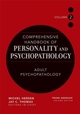 Comprehensive Handbook of Personality and Psychopathology , Volume 2 , Adult Psychopathology (0471488380) cover image