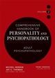 Comprehensive Handbook of Personality and Psychopathology , Volume 2 , Adult Psychopathology (0471488380) cover image