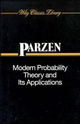 Modern Probability Theory and Its Applications  (0471572780) cover image