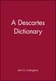 A Descartes Dictionary (0631185380) cover image