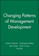 Changing Patterns of Management Development (0631209980) cover image