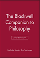 The Blackwell Companion to Philosophy, 2nd Edition (0631219080) cover image
