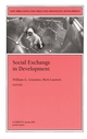 Social Exchange in Development: New Directions for Child and Adolescent Development, Number 95 (0787962880) cover image