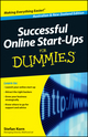 Successful Online Start-Ups For Dummies, Australia and New Zealand Edition (1118302680) cover image