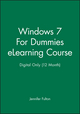 Windows 7 For Dummies eLearning Course - Digital Only (12 Month) (1118516680) cover image