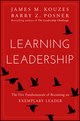 Learning Leadership: The Five Fundamentals of Becoming an Exemplary Leader  (1119144280) cover image