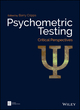 Psychometric Testing: Critical Perspectives (1119182980) cover image