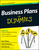Business Plans For Dummies, 3rd Edition (1119941180) cover image