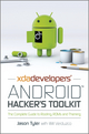 XDA Developers' Android Hacker's Toolkit: The Complete Guide to Rooting, ROMs and Theming (1119951380) cover image