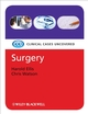 Surgery: Clinical Cases Uncovered (1405158980) cover image