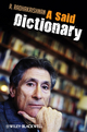 A Said Dictionary (1405183780) cover image