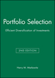 Portfolio Selection: Efficient Diversification of Investments, 2nd Edition (1557861080) cover image