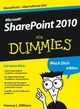 Microsoft SharePoint 2010 für Dummies (3527658580) cover image