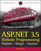 ASP.NET 3.5 Website Programming: Problem - Design - Solution (0470187581) cover image