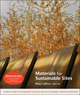 Materials for Sustainable Sites, Book and WileyCPE.com course bundle (0470490381) cover image