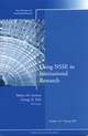 Using NSSE in Institutional Research: New Directions for Institutional Research, Number 141 (0470499281) cover image