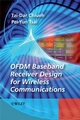 OFDM Baseband Receiver Design for Wireless Communications (0470822481) cover image