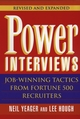 Power Interviews: Job-Winning Tactics from Fortune 500 Recruiters, Revised and Expanded Edition (0471177881) cover image