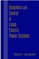Dynamics and Control of Large Electric Power Systems (0471298581) cover image
