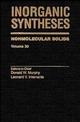 Inorganic Syntheses: Nonmolecular Solids, Volume 30 (0471305081) cover image