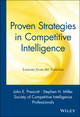 Proven Strategies in Competitive Intelligence: Lessons from the Trenches (0471401781) cover image