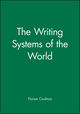 The Writing Systems of the World (0631180281) cover image