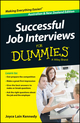 Successful Job Interviews For Dummies, Australian and New Zealand Edition (0730308081) cover image