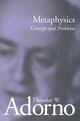 Metaphysics: Concept and Problems (0745694381) cover image