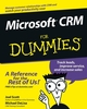 Microsoft CRM For Dummies (0764516981) cover image