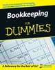 Bookkeeping For Dummies (0764598481) cover image