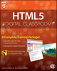 HTML5 Digital Classroom, (Book and Video Training) (1118016181) cover image
