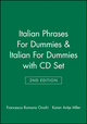 Italian Phrases For Dummies & Italian For Dummies, 2nd Edition with CD Set (1118275381) cover image