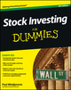 Stock Investing For Dummies, 4th Edition (1118376781) cover image