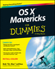 OS X Mavericks For Dummies (1118691881) cover image