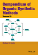 Compendium of Organic Synthetic Methods, Volume 13 (1118791681) cover image
