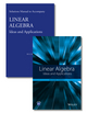 Linear Algebra: Ideas and Applications Set, 4th Edition (1118911881) cover image