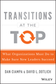 Transitions at the Top: What Organizations Must Do to Make Sure New Leaders Succeed (1118975081) cover image