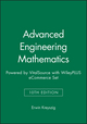 Advanced Engineering Mathematics, 10e Wiley E-Text: Powered by VitalSource with WileyPLUS eCommerce Set (1119368081) cover image