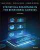 Statistical Reasoning in the Behavioral Sciences, 7th Edition (1119379881) cover image