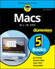 Macs All-In-One For Dummies, 5th Edition (1119607981) cover image