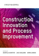 Construction Innovation and Process Improvement (1405156481) cover image