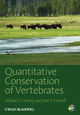 Quantitative Conservation of Vertebrates (1405190981) cover image