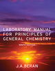 Laboratory Manual for Principles of General Chemistry, 9th Edition (EHEP001881) cover image