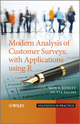 Modern Analysis of Customer Surveys: with Applications using R (0470971282) cover image