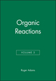Organic Reactions, Volume 3 (0471005282) cover image