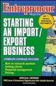 Entrepreneur Magazine: Starting an Import / Export Business (0471110582) cover image